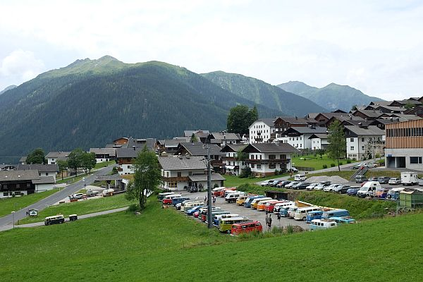 Obertilliach in Austria