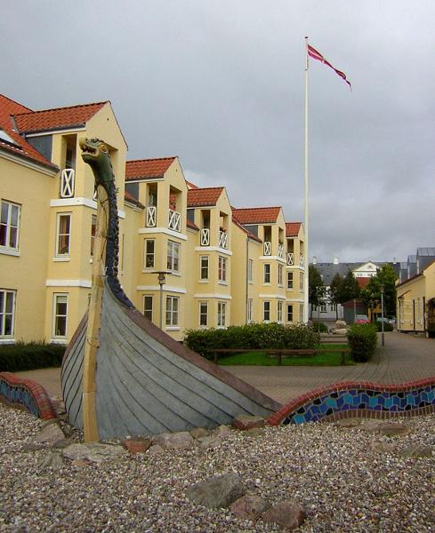 Faaborg in Danmark