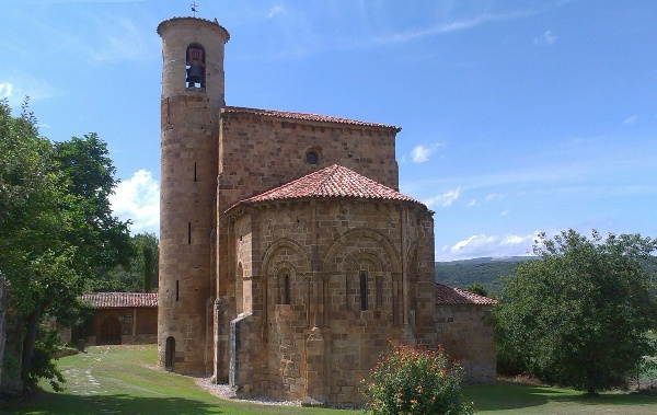 San Martin de Elines in Spain