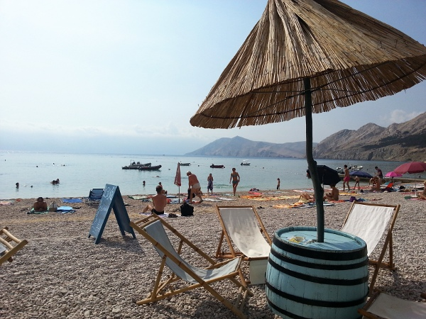 Baska in Croatia