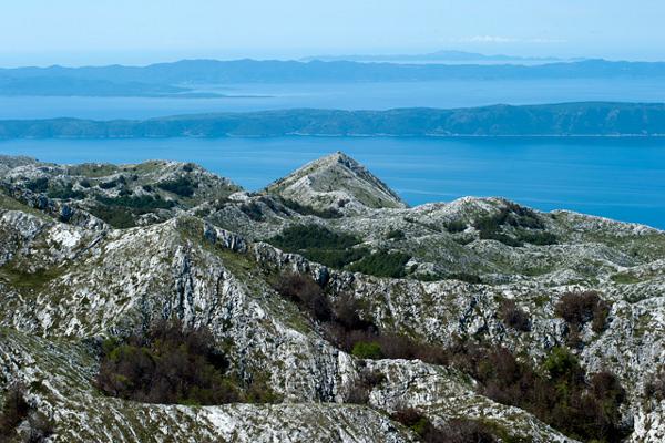 Biokovo Makarska in Croatia