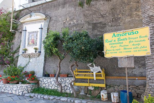 Massa Lubrense in Italy