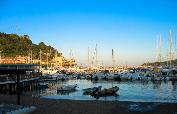 Porto Azzuro in Italy