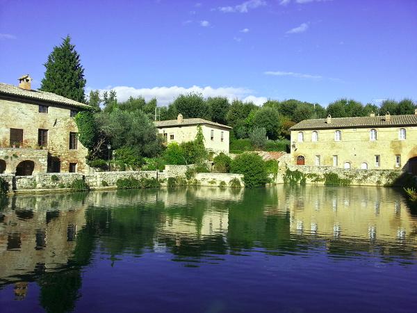 Bagno Vignoni in Italy