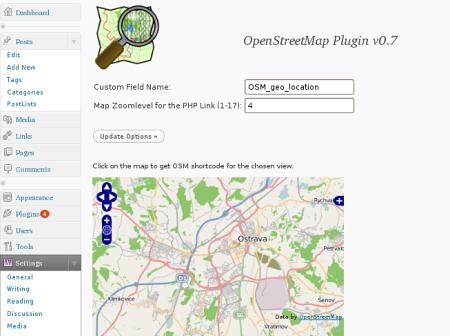 open streetmap shortcode generator